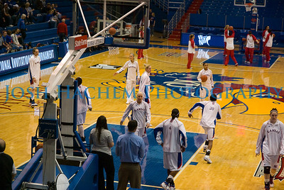 April 1, 2009 Kansas vs Illinois State WBB WNIT