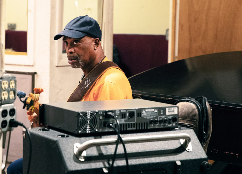 Melvin Smith | Delmark Rehearsal for Blues Fest