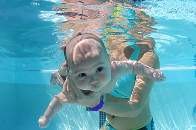 Baby Ryan Underwater