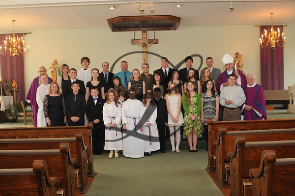Confirmation 2015 Sts. Peter & Paul