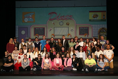 High School Theatre - 4/26/2017 Grease Dress Rehearsal