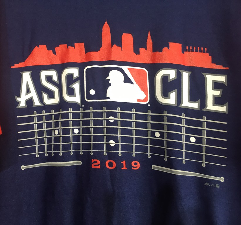 . 2019 All-Star Game merchandise. (David S. Glasier - The News-Herald)