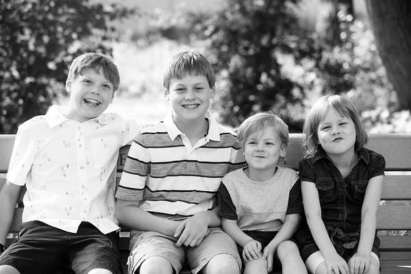 AJ, ADAM, CATHERINE & PATRICK