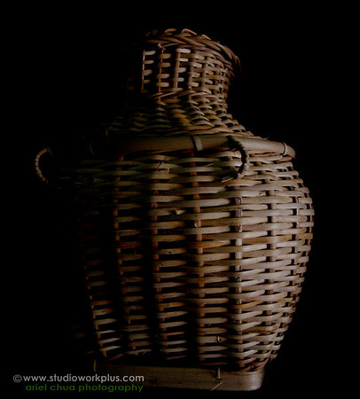 Basket made of Rattan Made in the Philippines