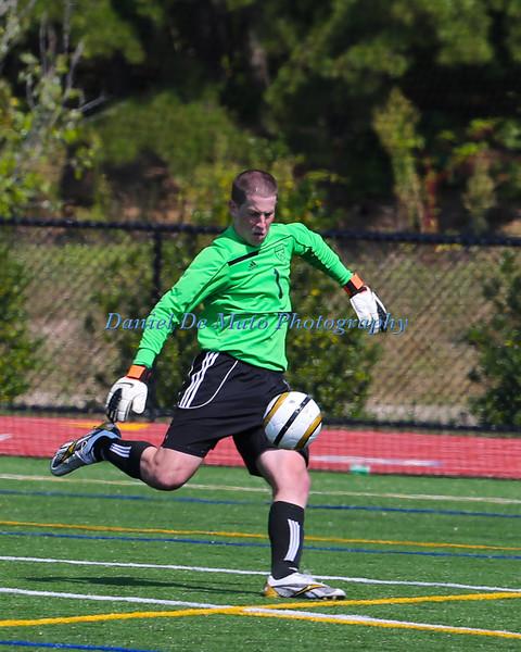 St Joseph's College Mens Soccer vs Lehman 9-1-12