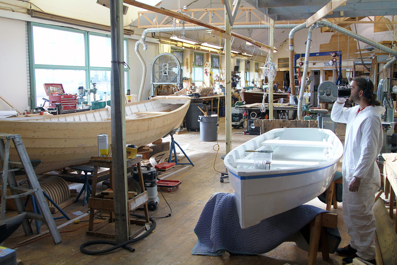 Boat Shop at the Independence Seaport Museum
