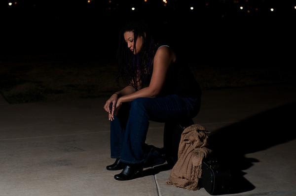 Stephanie at Night