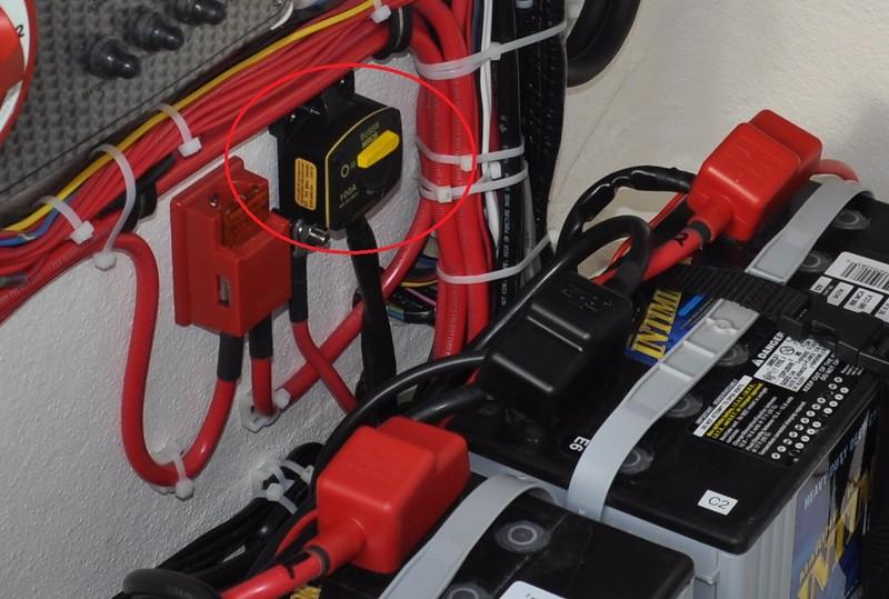 S243960-Yamaha Battery Isolator Lead