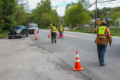 5-15-17 Mutual-Aid traffic, Route 9 (Garrison), Photos By Bob Rimm