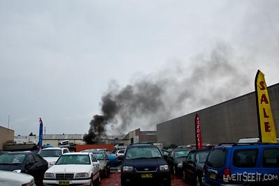 Truck Fire - Milperra, March 2011 (FRNSW)