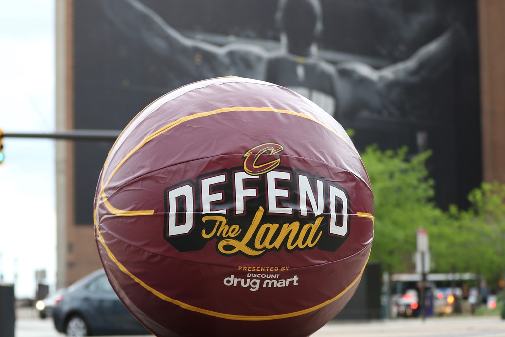 . Tim Phillis - The News-Herald Action from Game 1 of the Cavaliers-Raptors Eastern Conference semifinal series on May 1 at Quicken Loans Arena.