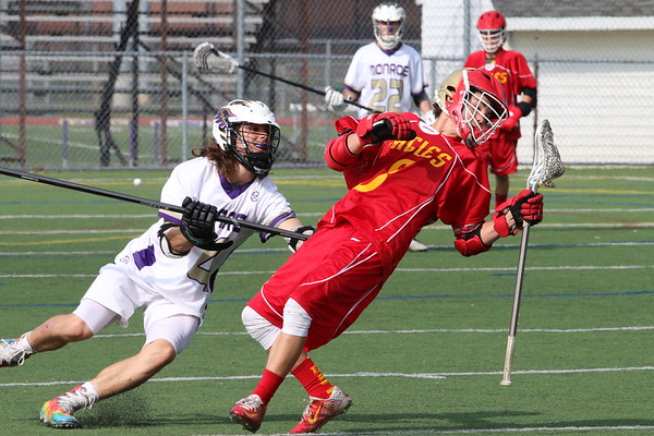 April 20, 2017 Boys LAX blowout of Edison Eagles, photos by R DeBoer