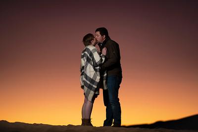 Great Sand Dunes National Park Adventure Engagement - Lora & Jeff