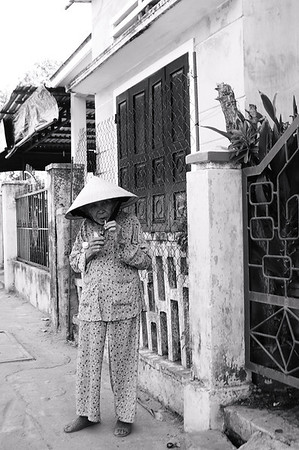 Inflight Photostory: Hoi An, Vietnam Black & White