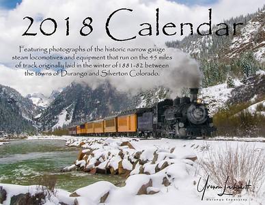 2018 Train Calendar