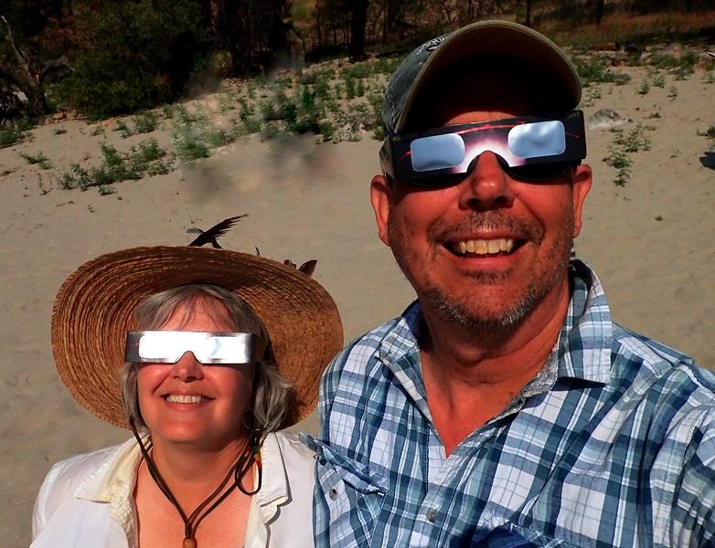 Eclipse Main Salmon River Idaho