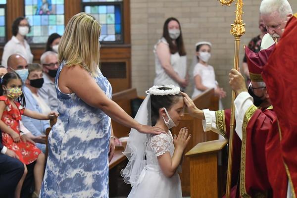 Confirmation + 1st Communion June 2021
