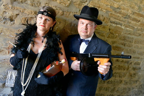 Gangster Steve & Flapper Jane's Photoshoot