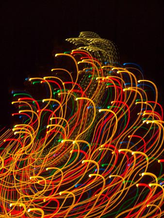 Chagrin Falls Holiday Lights Dec 12 2008
