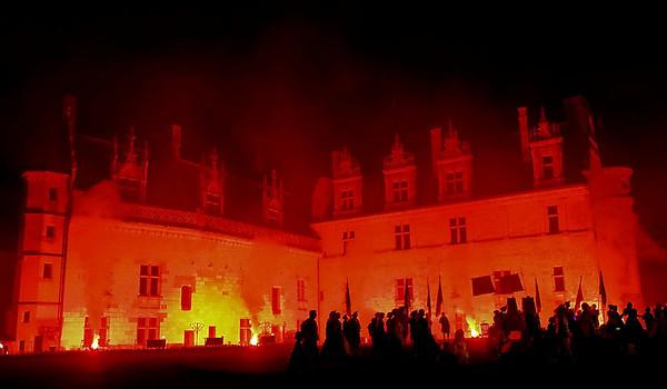 Château d'Amboise en couleurs