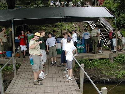 2004 Aug. Summer Camp at Treasure Island
