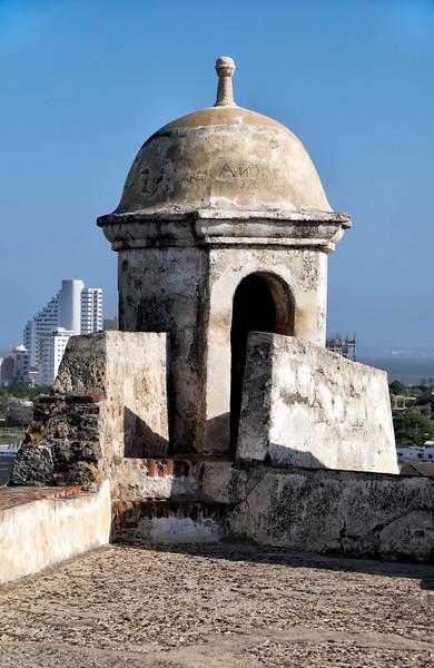 Cartagena Columbia Battlement