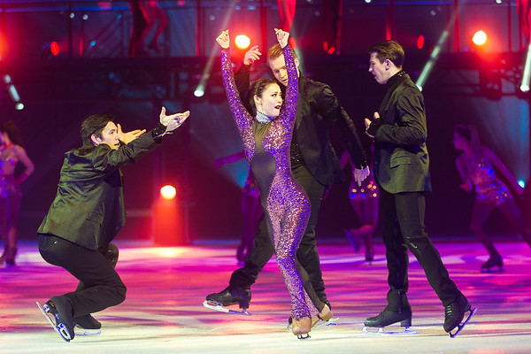 Holiday on Ice am 05.01.17 in Frankfurt in der Festhalle