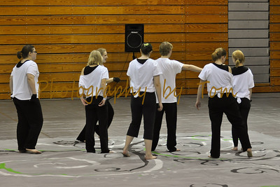 Ste. Genevieve HS Winter Guard
