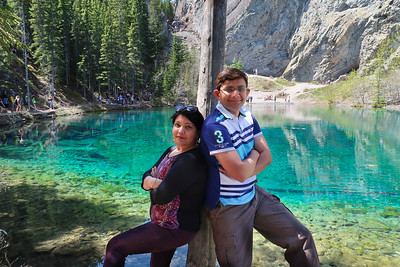 Grassi Lake Hike (May 2017)