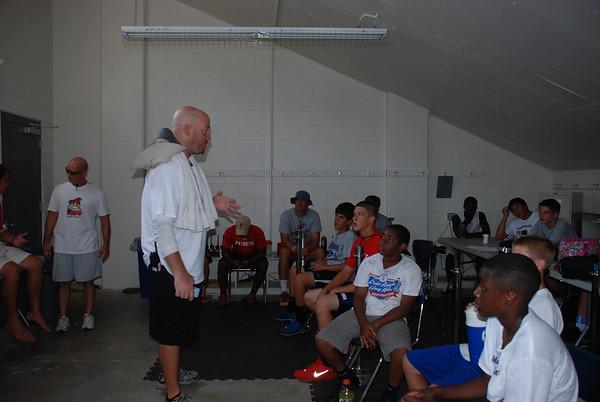 Football Camp: Baltimore Ravens A.Q. Shipley Talk