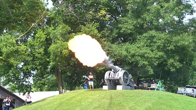 Rolling Thunder visit Cannon at New Castle Indiana