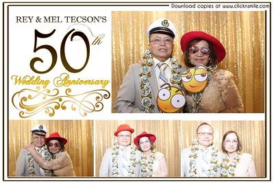 Rey  & Mel Tecson's 50th Wedding Anniversary