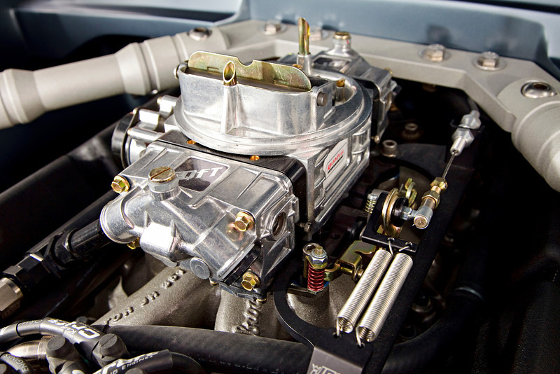 65 Mustang shop car