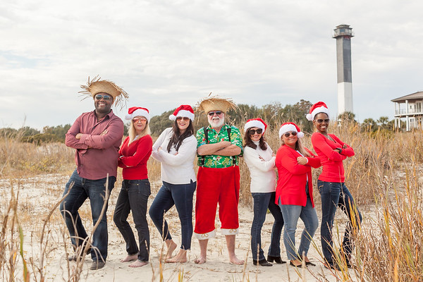Beach Santa on Sullivan's Island