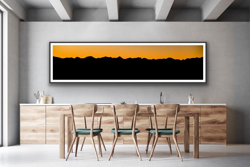 'Purcell Skyline' Fine Art Print Framed/Unframed