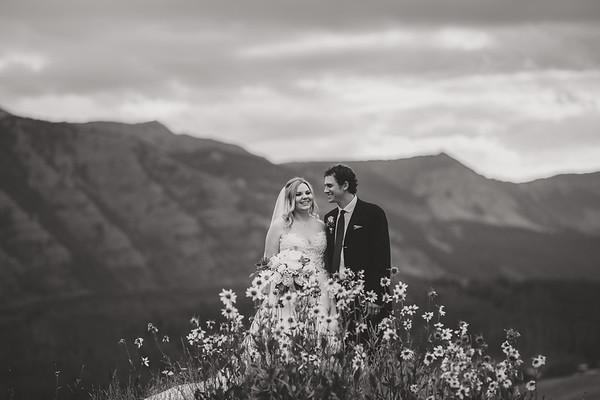 Shayna & Vincent Wedding B&W