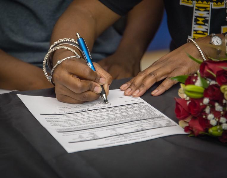 Jasmine, William,s Scholarship, Signing, 05-15-15, 2015, NCHS-21