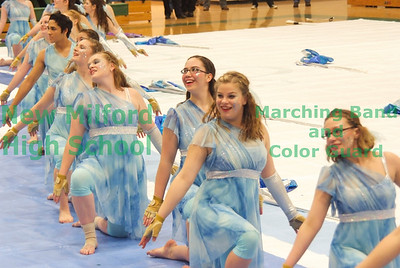 NMHS Winter Guard and Percussion Home Show, February 19, 2011