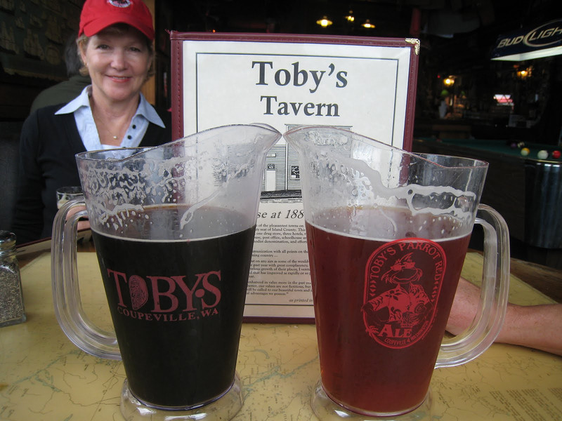 We liked Toby's so much, we had to go back for our final pub lunch on Day 12.