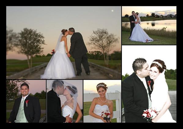 John and Miranda's Graphics Wedding Day Oct 31, 2009