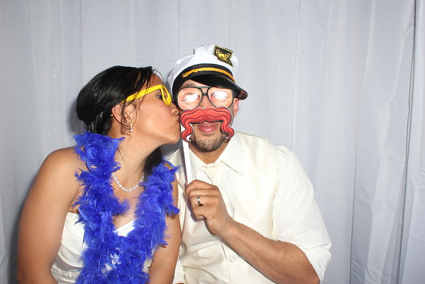 Chrissy and Devin's Wedding Photobooth