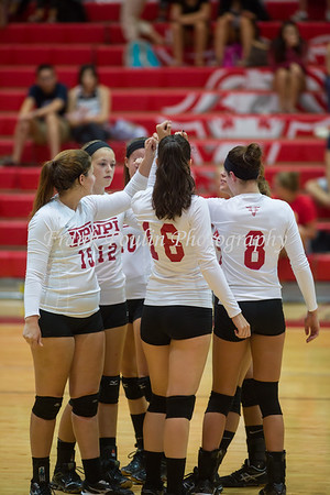 WPI volleyball 9/15/2015