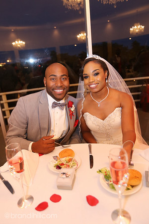 Tyla and Brannon Johnson's Wedding Reception, at The Heart of St. Charles