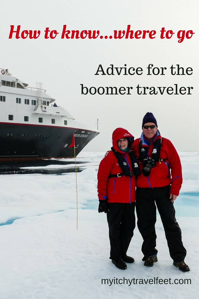 How to know where to go on a boomer trip. Tips for choosing the best destinations and experiences for your travel bucket list.