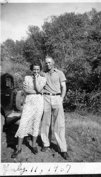 Allen Herdrich and Emily Rosenberg