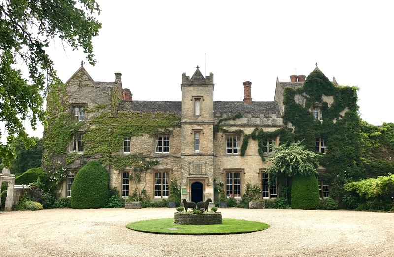 The Manor House for tea