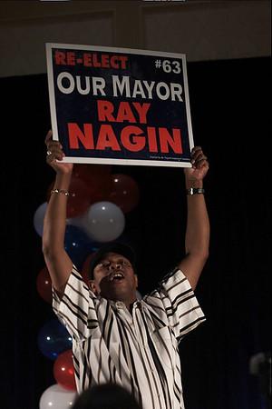 Ray Nagin Wins