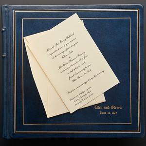 Ellen & Steven's Wedding Album Conservation