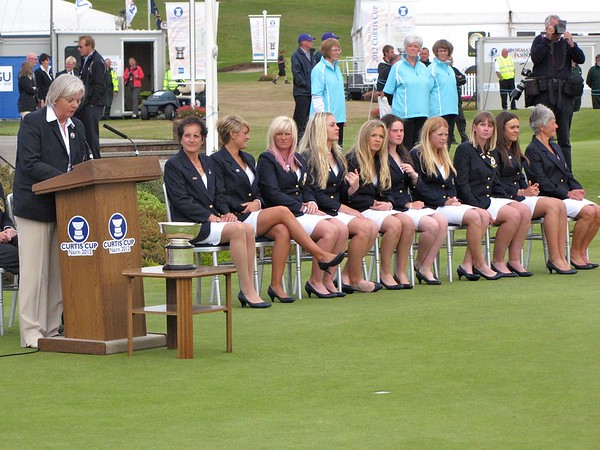 2012 Curtis Cup Opening Ceremony