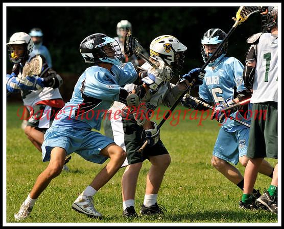 Lacrosse - Trilogy Jersey Shoot Out JS U-15 Black  June, 2009